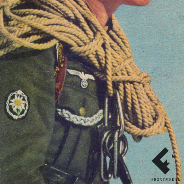 """Почтовая карточка из серии """"Горные стрелки Вермахта"""""""