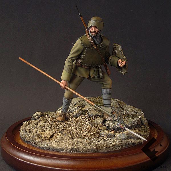 "Боец итальянских ""АРДИТИ"" (Шестая битва при Изонцо, 1916)"