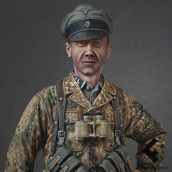 Гауптшарфюрер Войск СС в период Нормандской операции 1944-го года