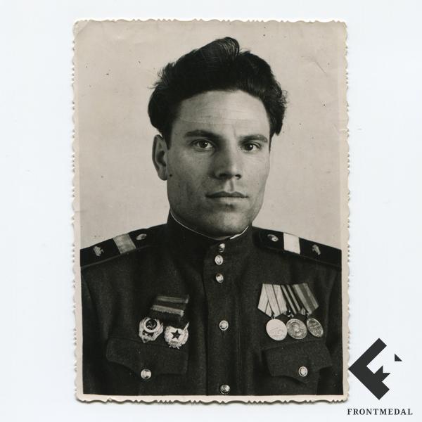 """Фото-портрет """"Отличный танкист Красной армии"""""""