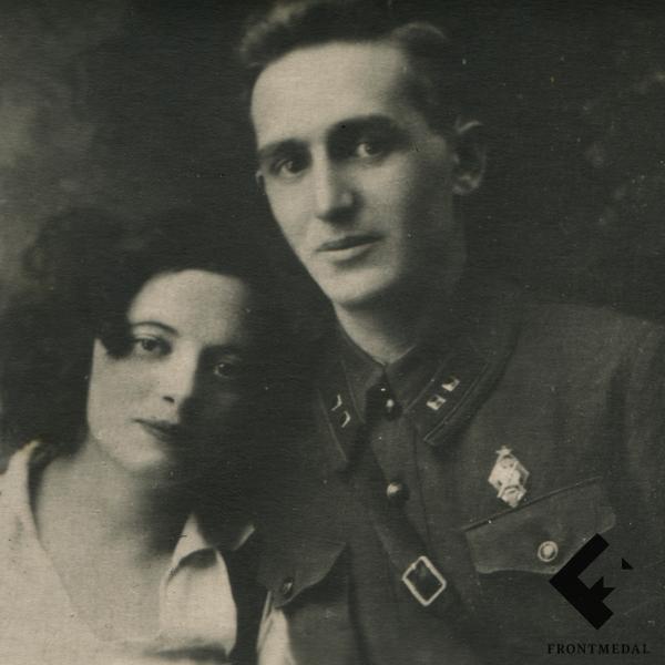 Фото командира отдельного взвода погранвойск РККА