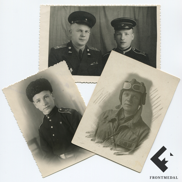 Три фотокарточки из семейного архива картинка