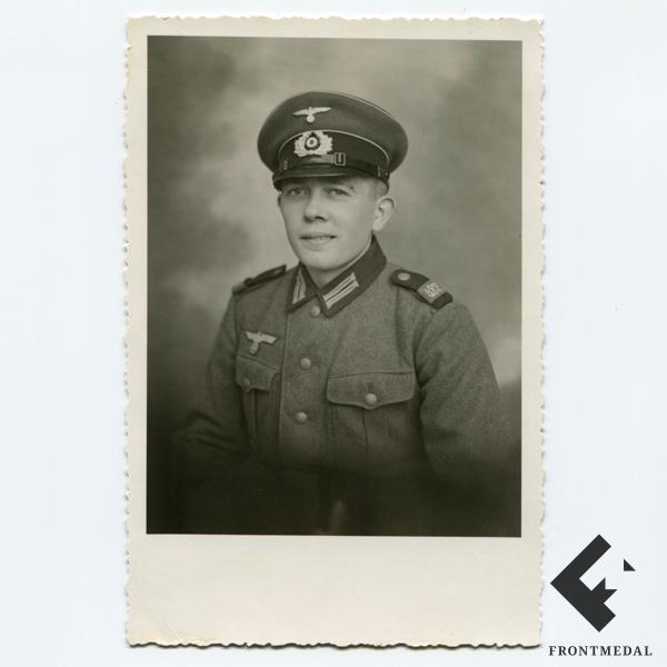 Фото рядового из 482 батальона пехоты Вермахта картинка