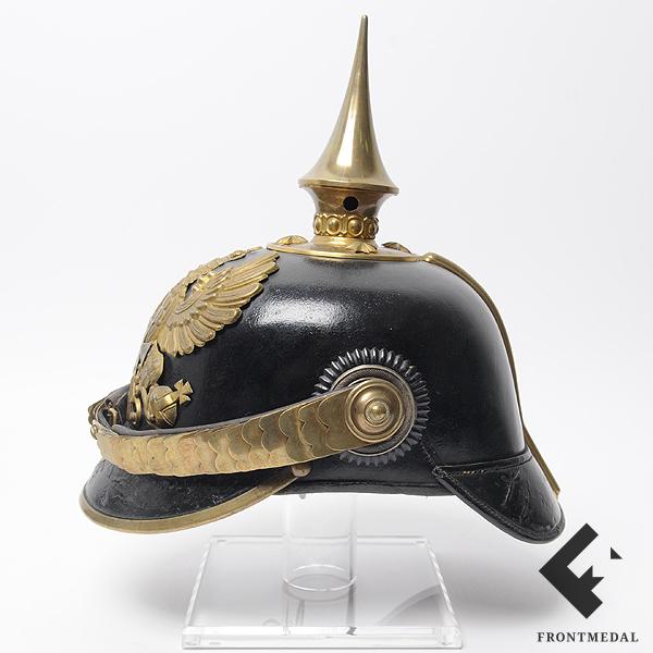 """Головной убор """"Pickelhaube"""" офицера-резевиста армии Пруссии"""