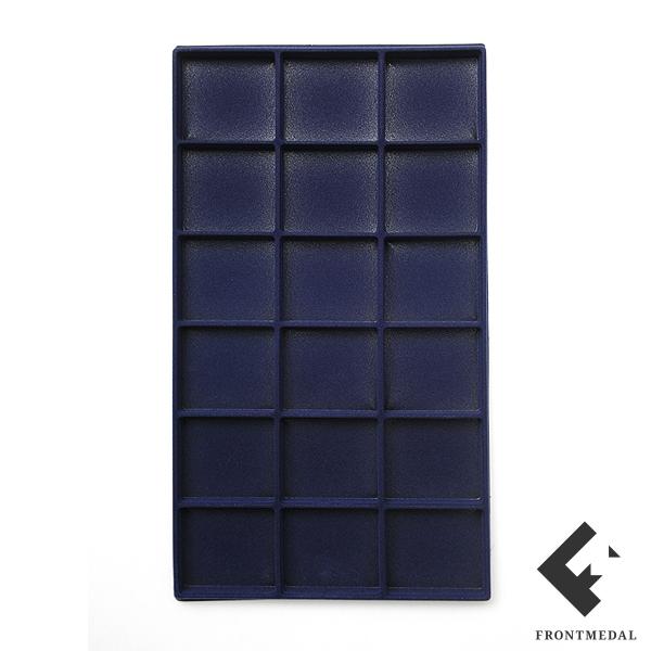 Вставка в багет формата А4+ (18 ячеек, синий цвет)