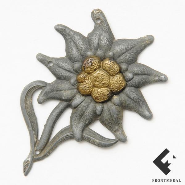 Эдельвейс на кепи горнострелковых частей