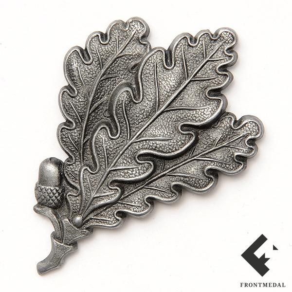 """Эмблема """"дубовая ветвь"""" на кепи егерских частей Вермахта"""