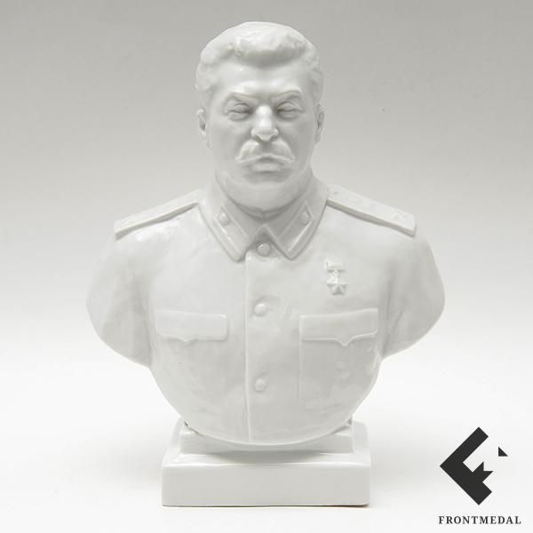 Настольный бюст В.И. Сталина (ЛФЗ, 1940-50-е гг.)