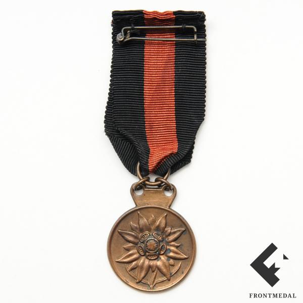 "Памятный жетон ""Eismeer front 1942-1943"" на ленте"