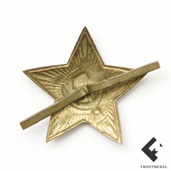 """Эмблема """"Красная звезда"""" на головной убор РККА"""