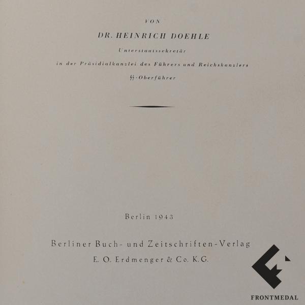 Orden Ehrenzeichen Reichs Dr. Heinrich Doehle картинка