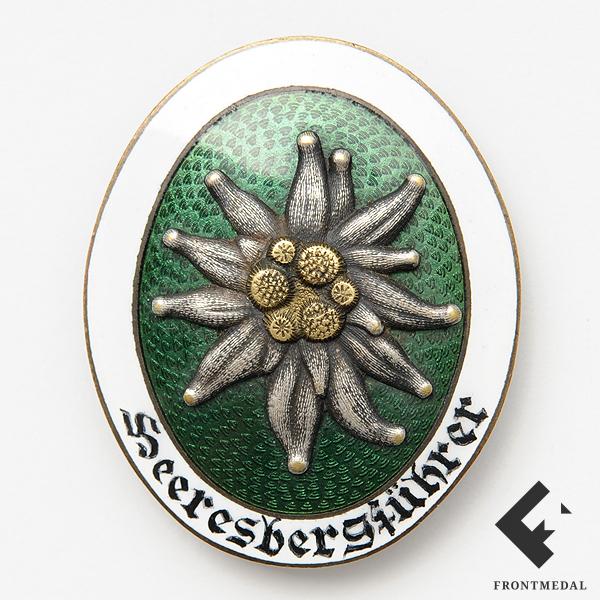 Знак Горного проводника пехоты Вермахта