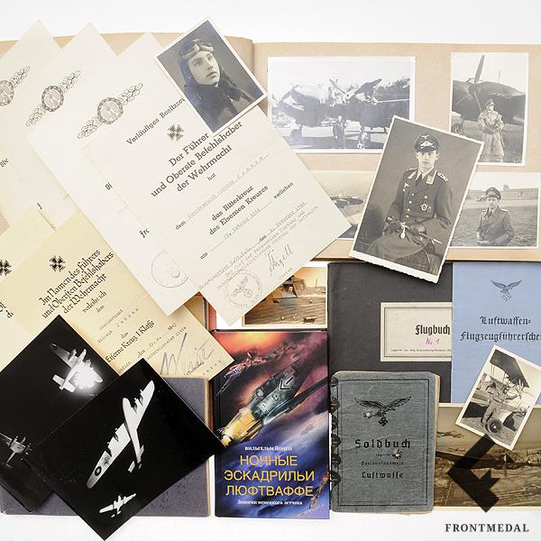 Вильгельм Йохнен – Ас ночной истребительной авиации Люфтваффе