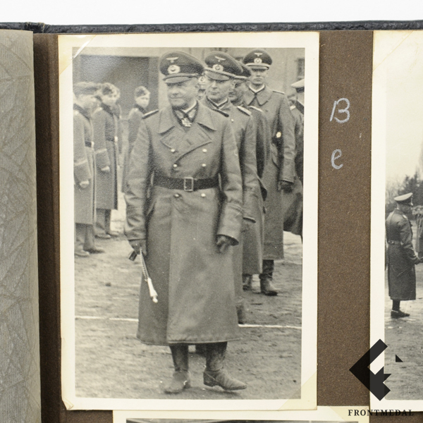 Фото-альбом с эмблемой лыжно-стрелковой дивизии Вермахта