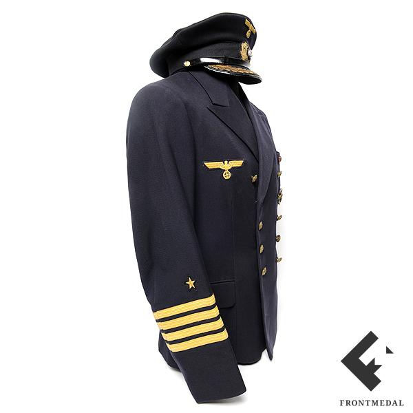 Китель, фуражка и документы Капитана моря Ганса Рехма