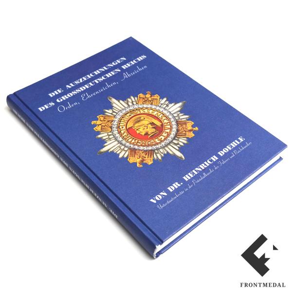 """Книга/каталог """" Ордена и знаки Третьего рейха """", Г. Доеле"""