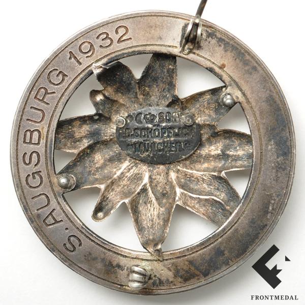 Знак за 25 лет в немецко-австрийском альпийском союзе