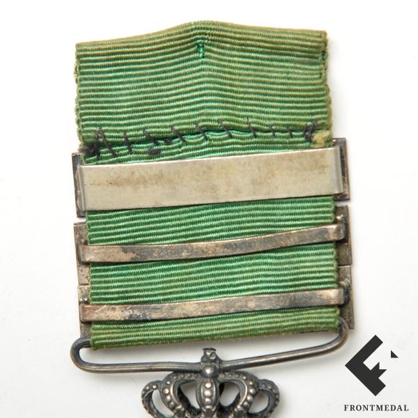 """Медаль за Марокканскую кампанию с планками """"MELLILA"""", """"TETUAN"""", """"LARACHE"""""""