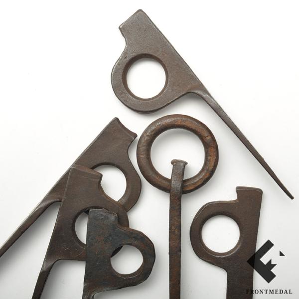 Набор кольев из снаряжения горных стрелков Вермахта