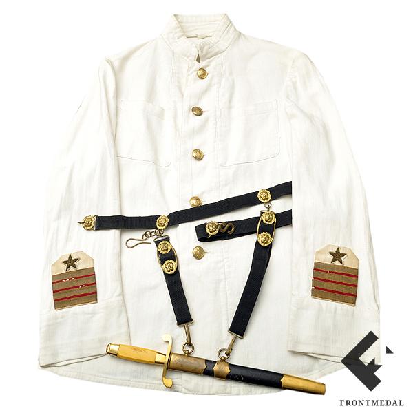 Белая униформа инженер-капитана 2-го ранга ВМФ РККА