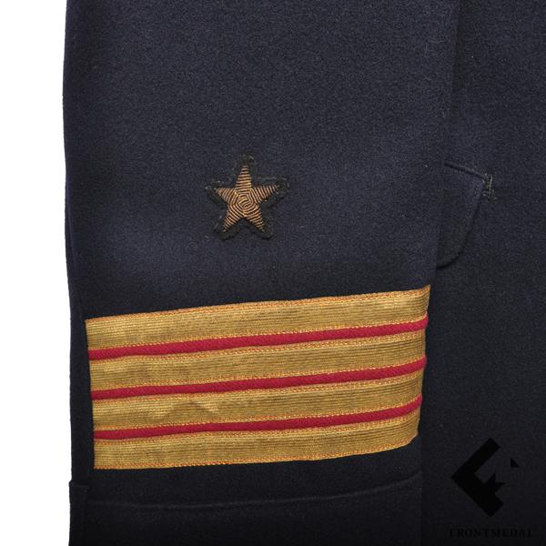 Повседневный китель и фуражка капитана 2-го ранга РКВМФ