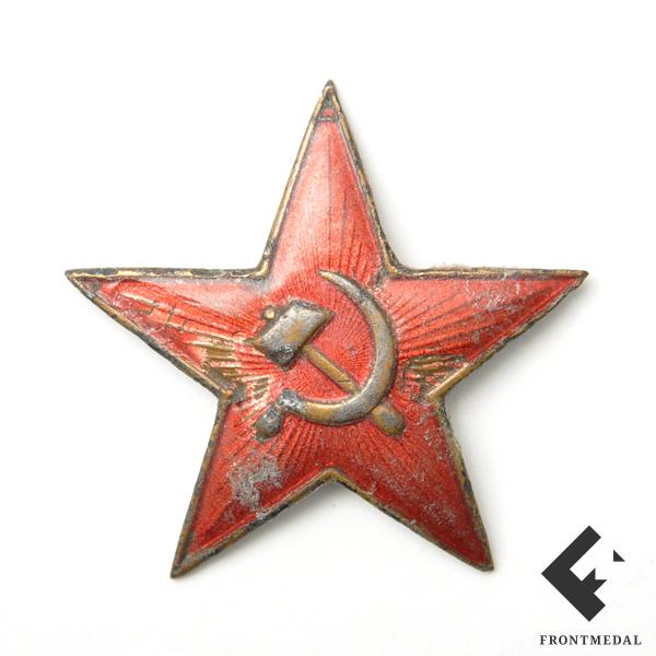 """Эмблема """"Красная звезда"""" для командирского состава РККА"""
