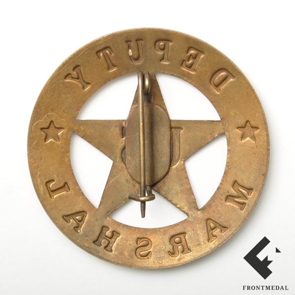 Служебный знак Помощник Маршала (США, 1969-70 гг.)