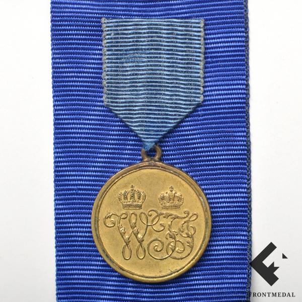 Миниатюрная версия медали За кампанию 1864 года