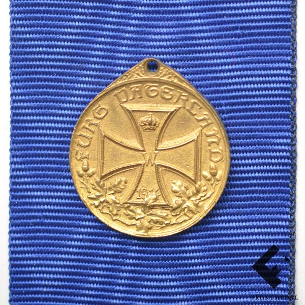 Миниатюрная версия медали в память о Первой Мировой войне