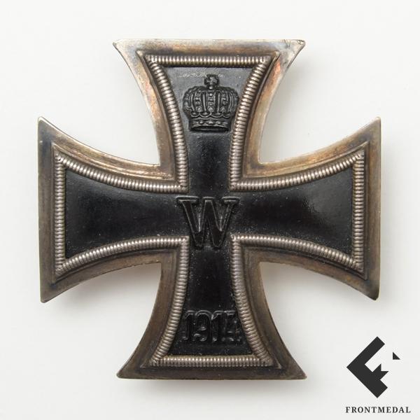 Железный крест 1 класса со сложным штифтовым крепежом картинка