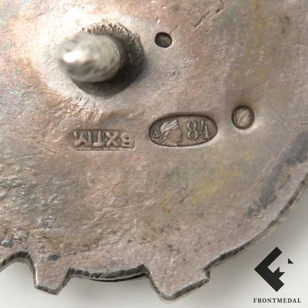 Знак Автоклуб союза рабочих шоферов СССР образца 1919 г.