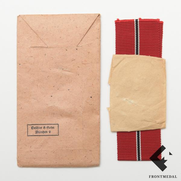 """Пакет, бумага и лента к медали """"За зимнюю кампанию"""""""
