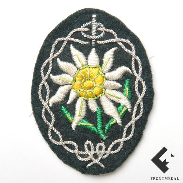 Эмблема на китель унтер-офицерского состава горноых частей