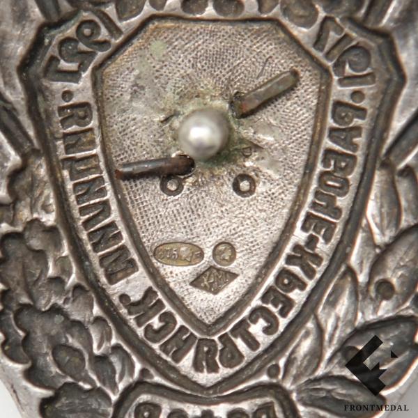"""Знак """"X лет рабоче-крестьянской милиции РСФСР"""", 1927 г."""
