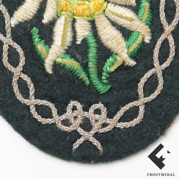 Нарукавная эмблема унтер-офицерского состава горных стрелков