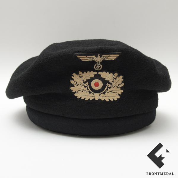 Специальный защитный черный берет танкистов Вермахта