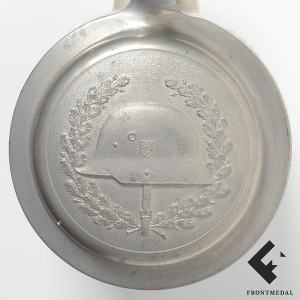 """Пивная кружка """"Егеря"""" в память о службе (Geb. Jag. Rgt. 13)"""