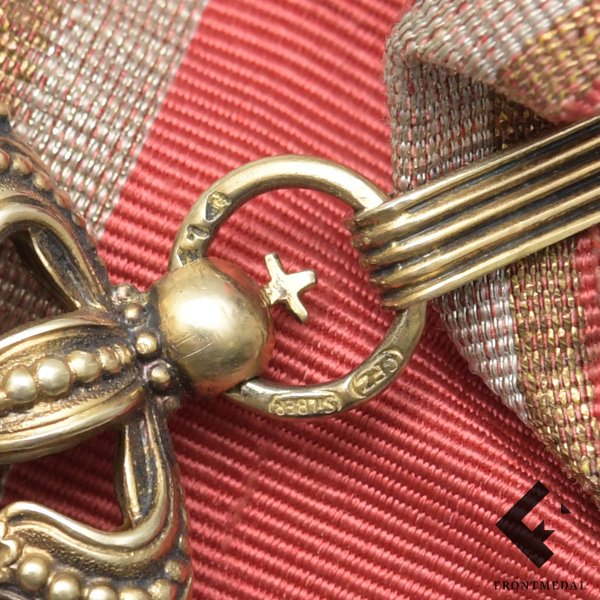 Рыцарский крест Ордена Звезды Румынии с мечами на ленте
