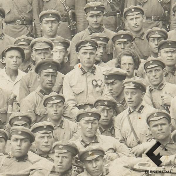 Групповое фото пограничников НКВД (РСФСР, 1920-е гг.)