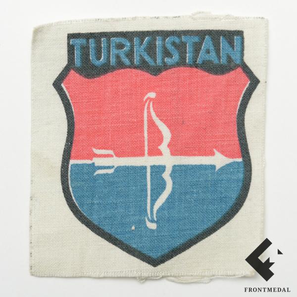 Нарукавный щит Теркистанского легиона в составе Вермахта