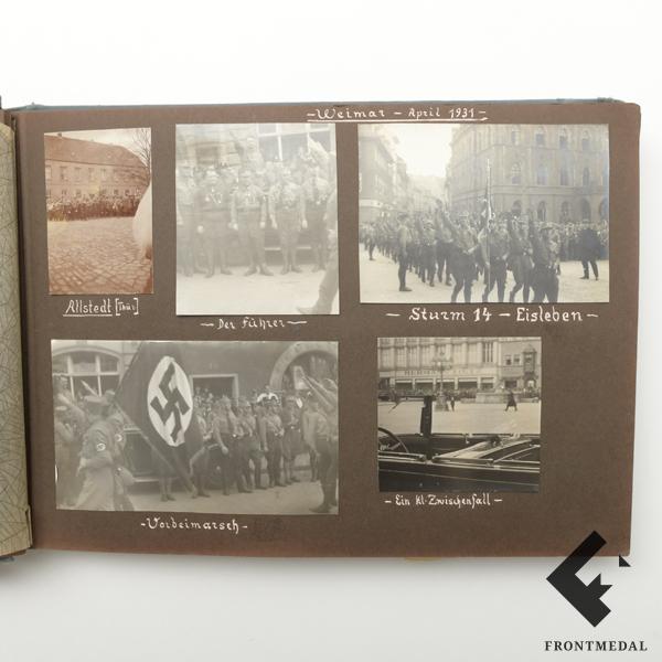 Альбом фотографий фюрера Штандарта SA, 1931-1934 гг.
