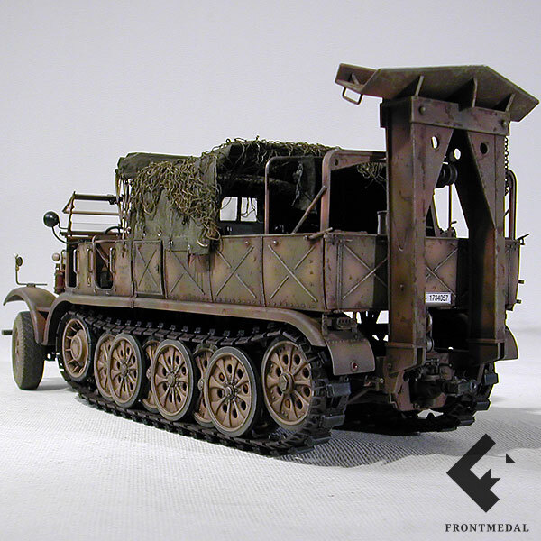 """Модель 18-ти тонного тягача """"FAMO"""""""