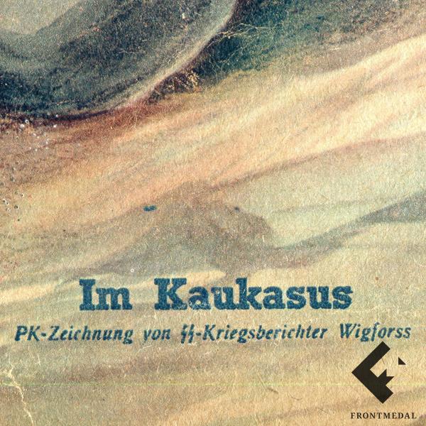 Обложка журнала DIE WOCHE - Войска СС на Кавказе, 1942 г.